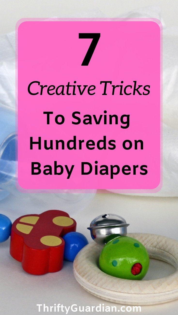ideas to save money on diapers