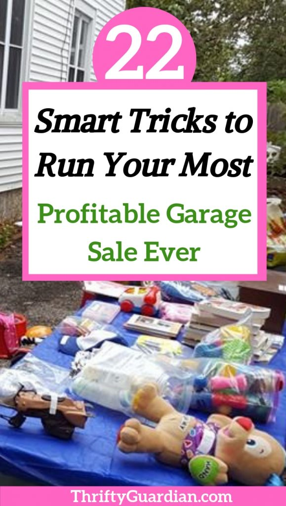 how to organize a successful garage sale