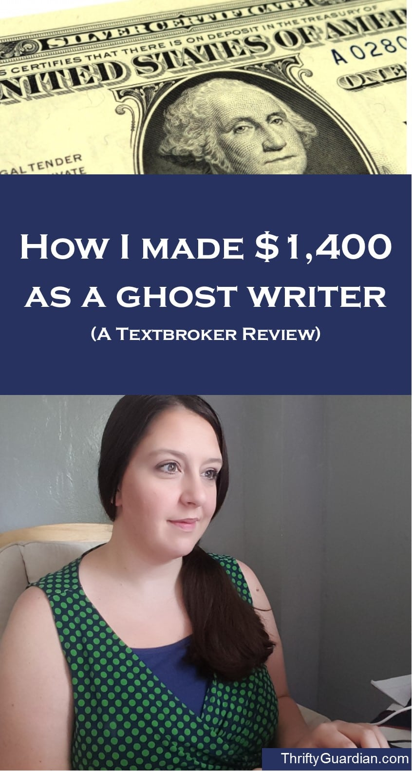 A Review of Textbroker, how to make money as a ghostwriter, make money from home, make money online, make money freelancing, make money blogging