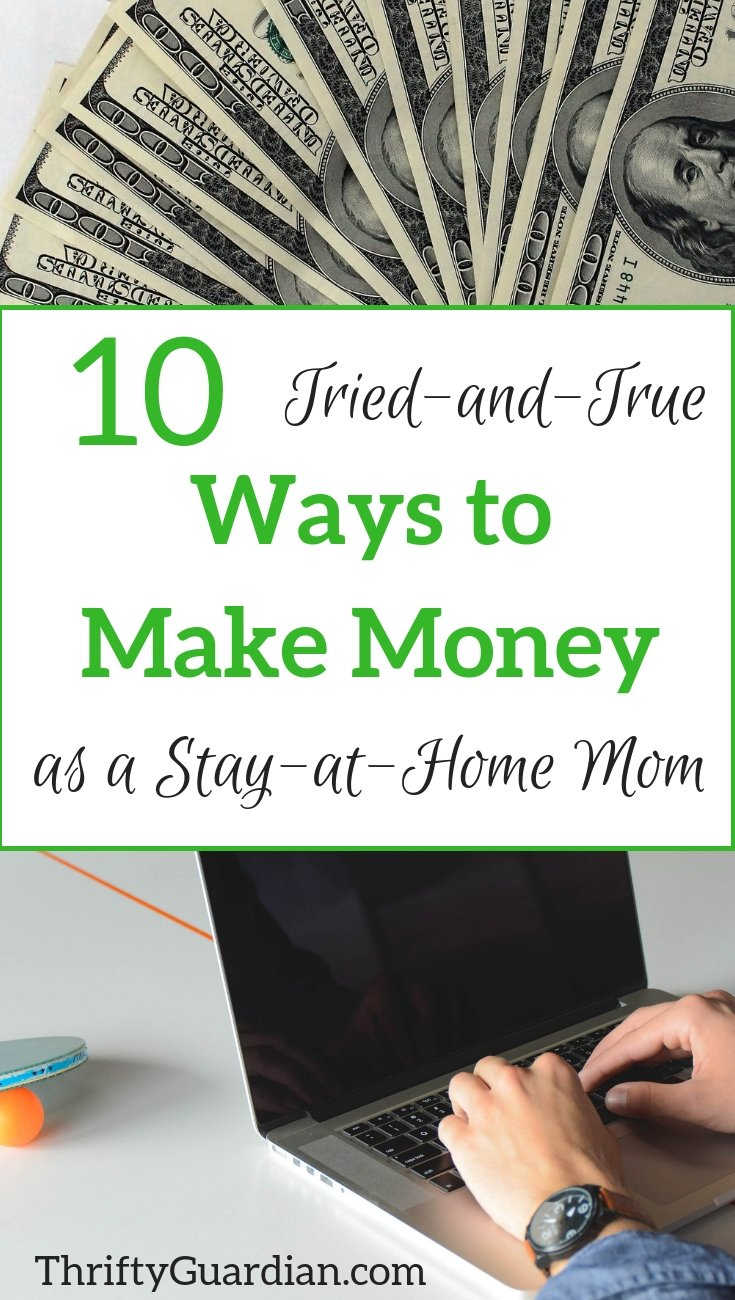 How to make money from home, ways that actually work! Great for a stay at home mom.