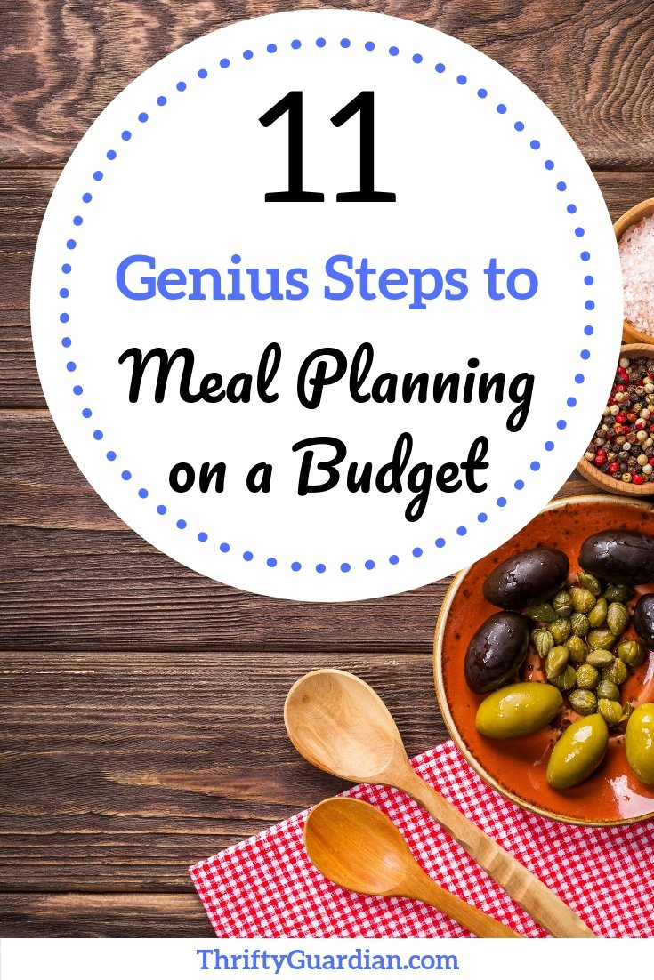 How to meal plan on a budget