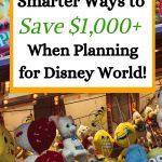 save money planning disney world