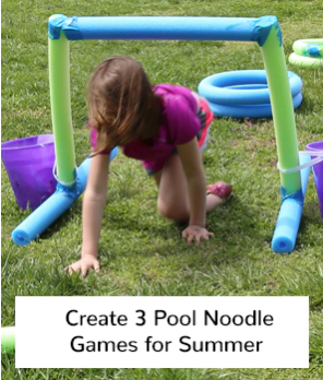 pool noodle games for summer