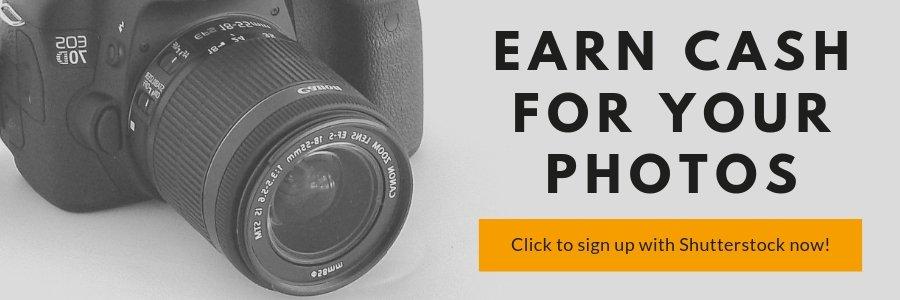 earn cash for your photos