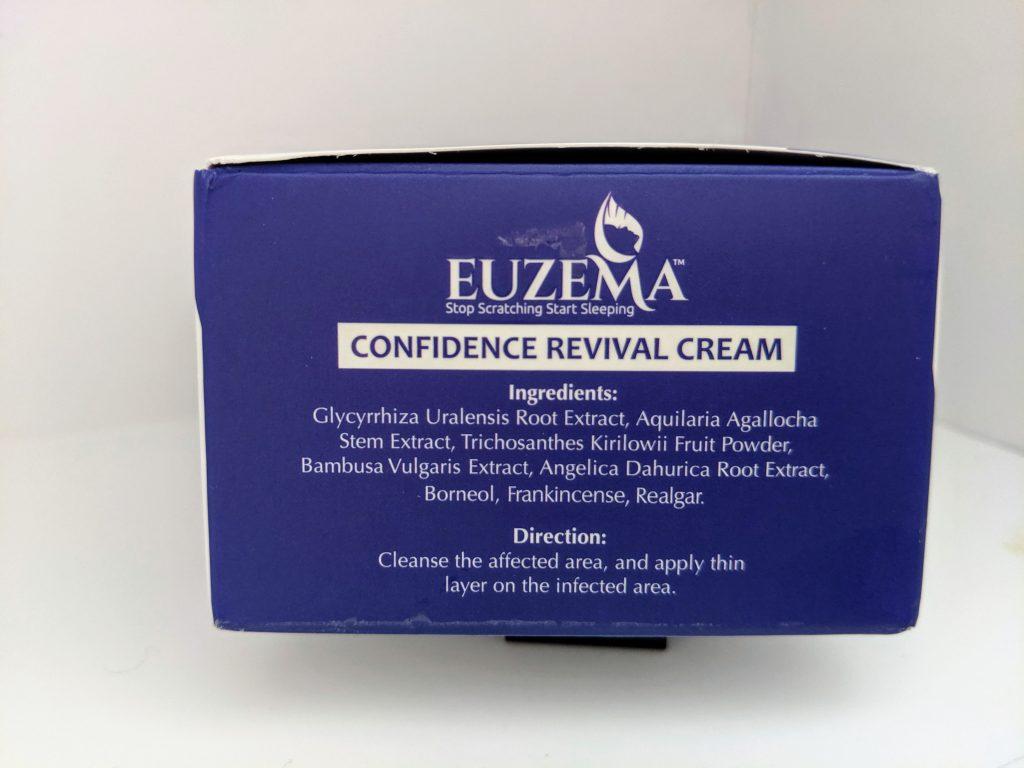 euzema skin ingredients
