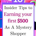 get started mystery shopping