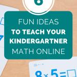 teach math online kindergartners
