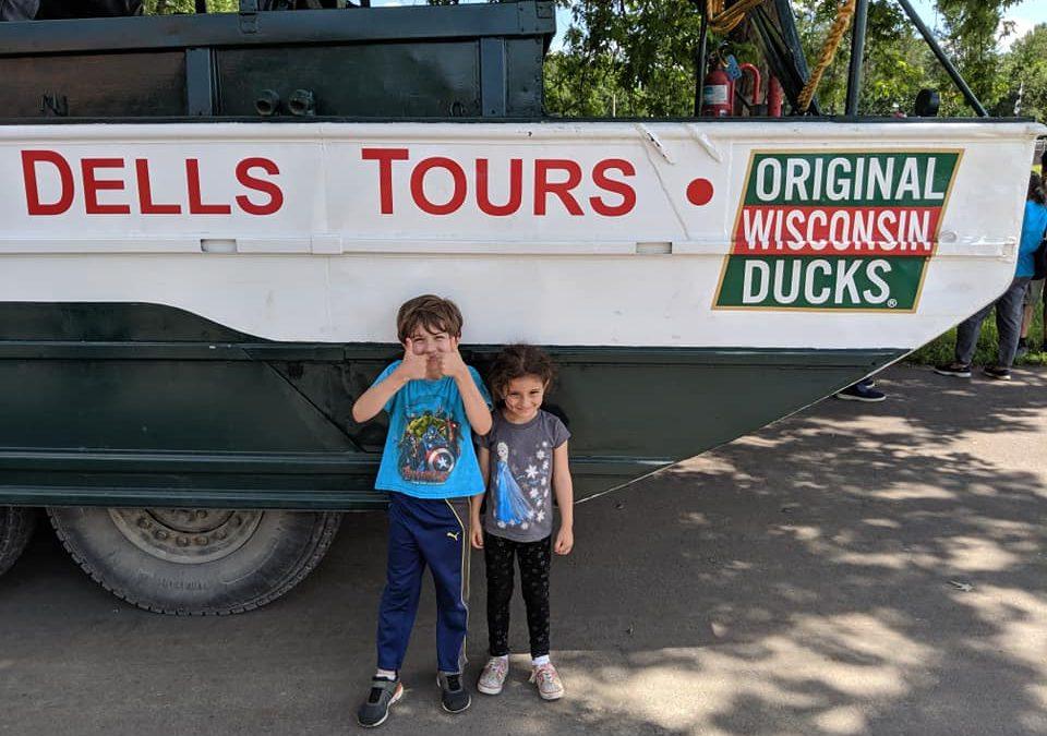 dells tours wisconsin ducks