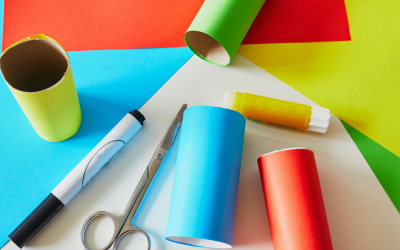 Craft Ideas For Toilet Paper Tubes